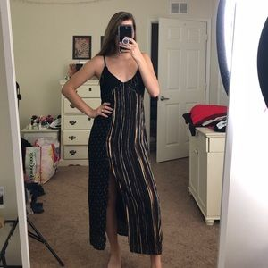 NWOT Urban Outfitters Patterned Maxi Dress